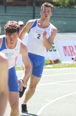 4x100m-Staffel Bayerns in Brixen
